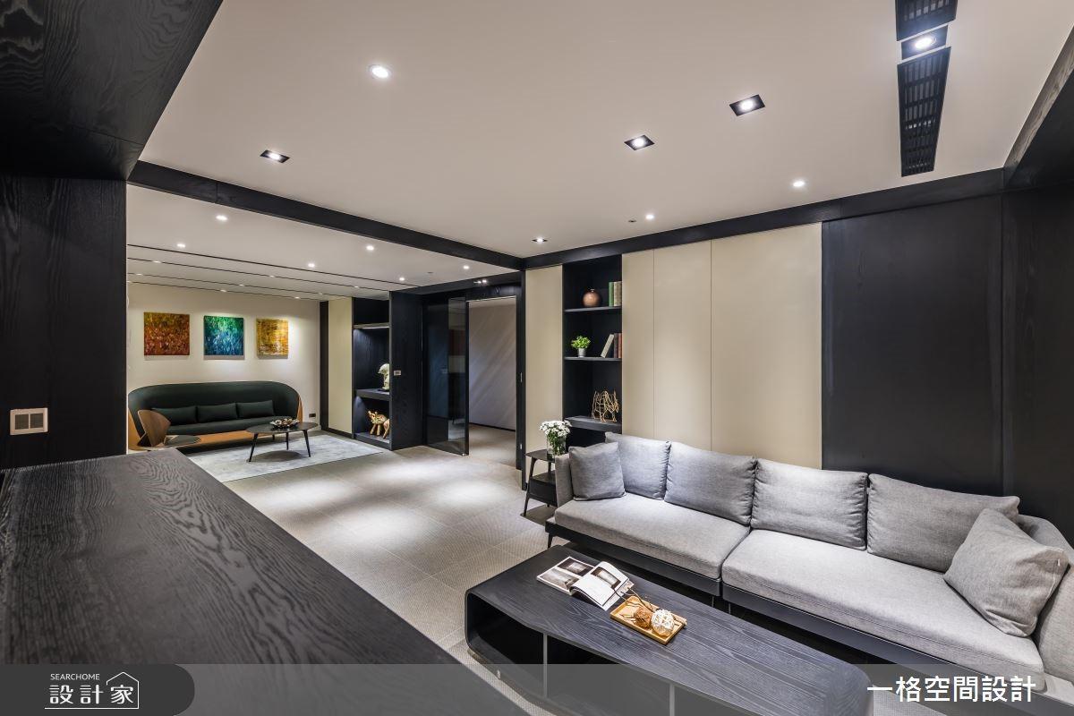 40坪新成屋(5年以下)_混搭風商業空間案例圖片_一格設計有限公司_一格_01之2