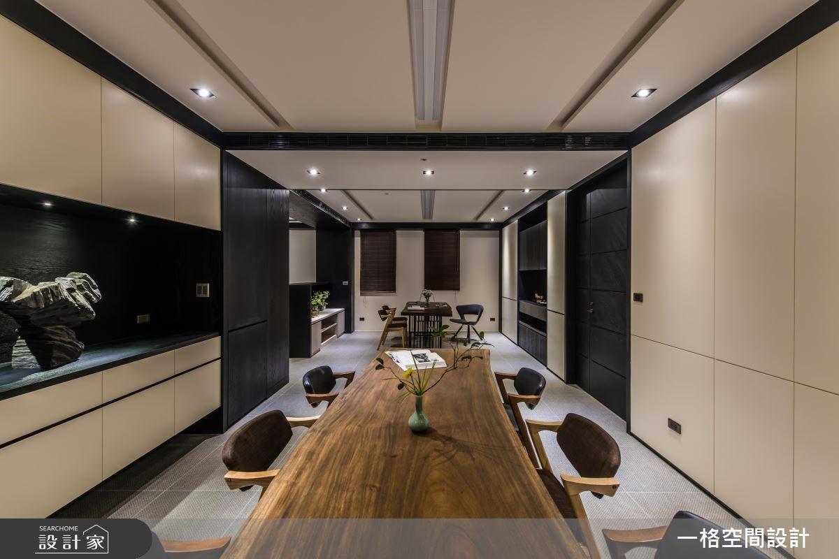 40坪新成屋(5年以下)_混搭風商業空間案例圖片_一格設計有限公司_一格_01之3
