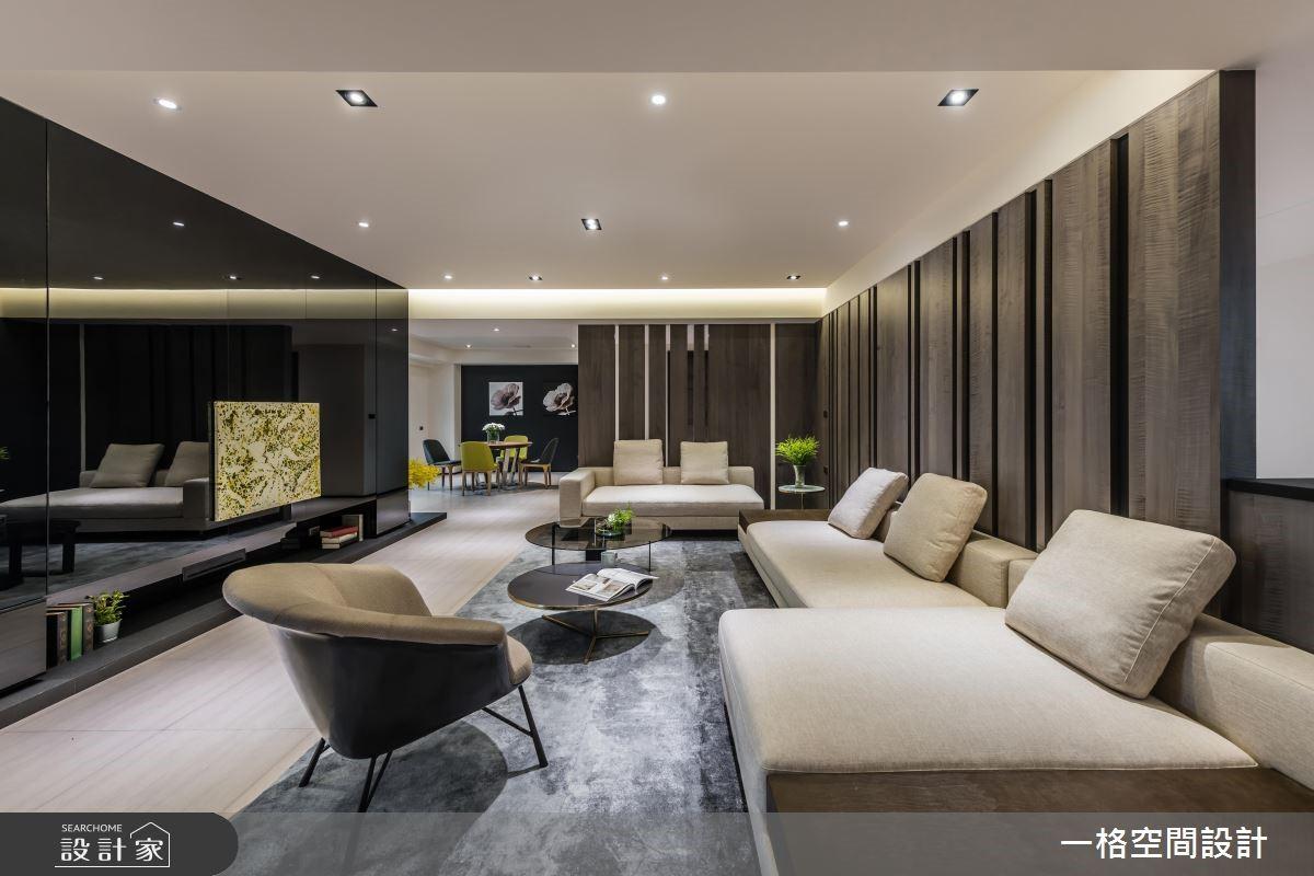 25坪新成屋(5年以下)_混搭風客廳案例圖片_一格設計有限公司_一格_02之3
