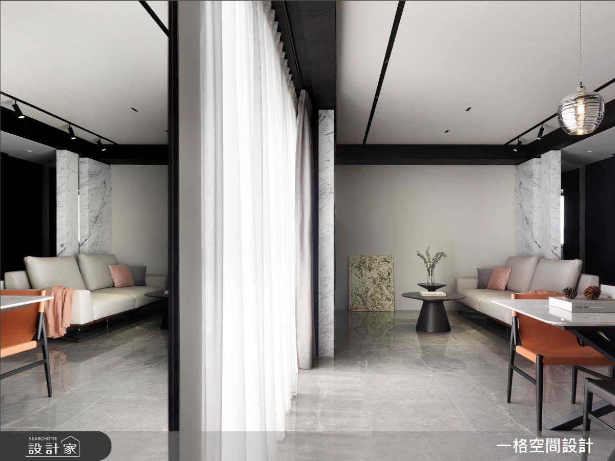 24坪新成屋(5年以下)_現代風客廳案例圖片_一格設計有限公司_一格_09之1