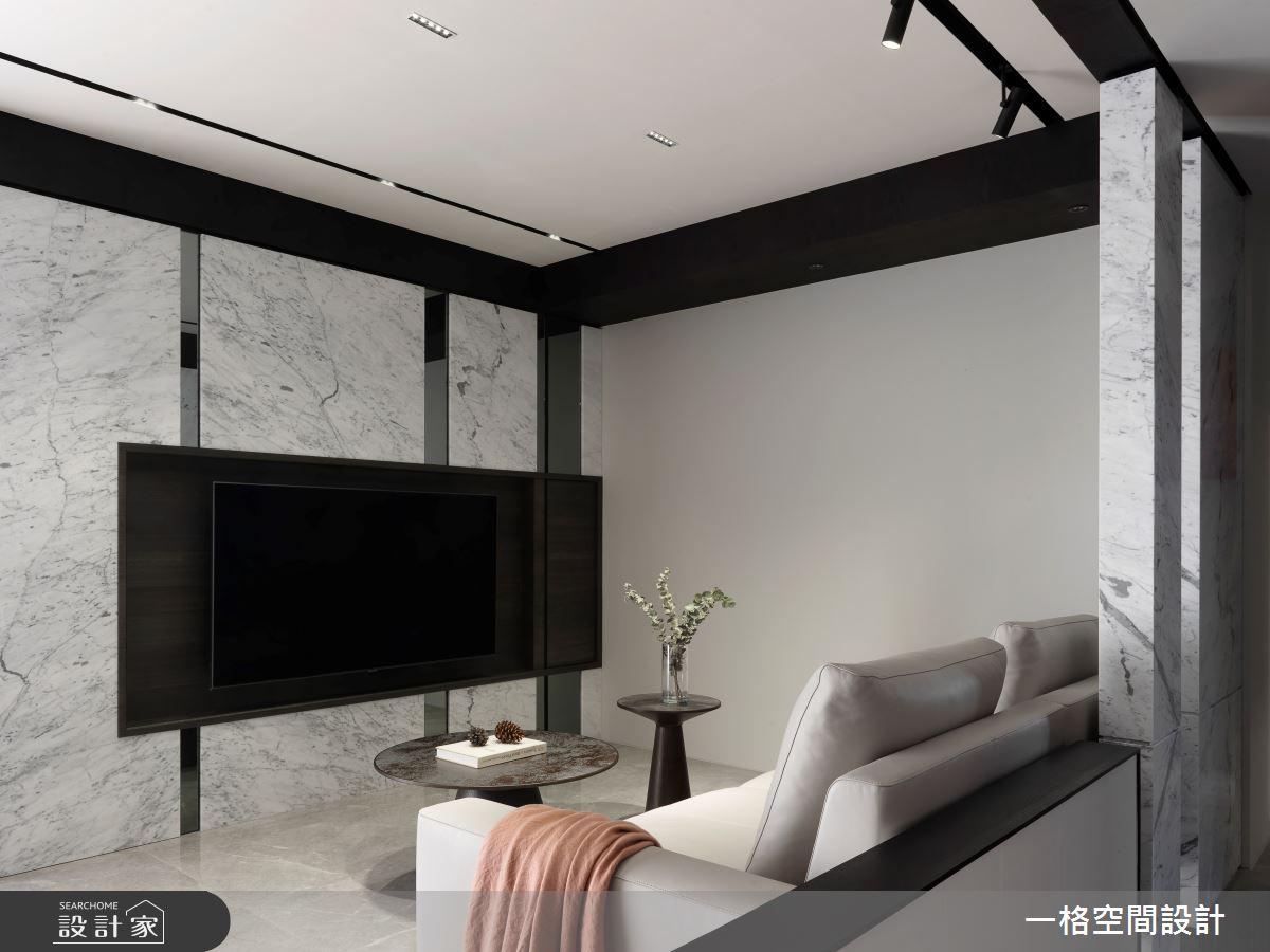 24坪新成屋(5年以下)_現代風客廳案例圖片_一格設計有限公司_一格_09之3