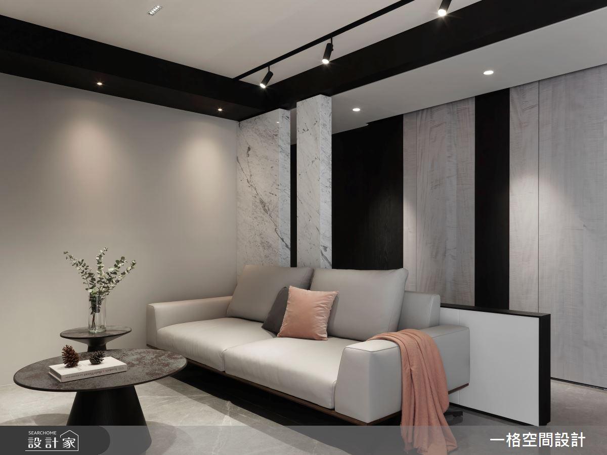 24坪新成屋(5年以下)_現代風客廳案例圖片_一格設計有限公司_一格_09之4