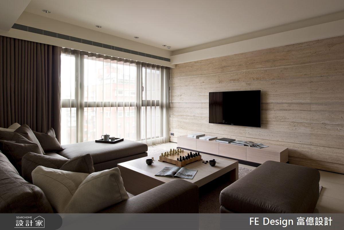 66坪新成屋(5年以下)_現代風客廳案例圖片_富億空間設計_富億_04之3