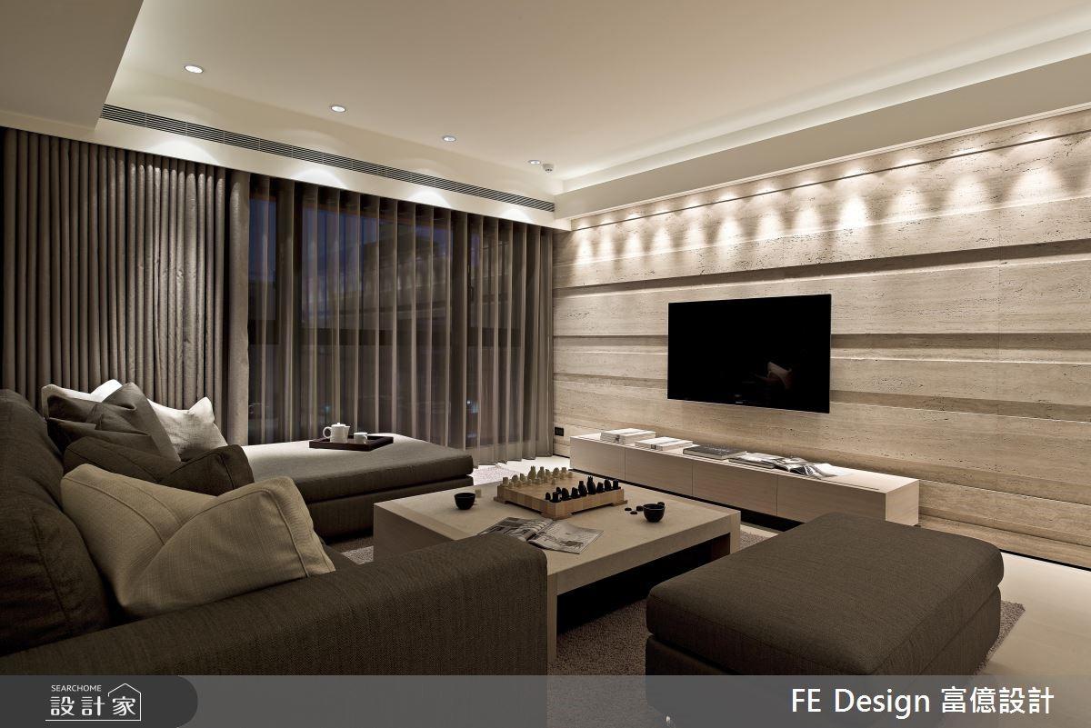 66坪新成屋(5年以下)_現代風客廳案例圖片_富億空間設計_富億_04之4