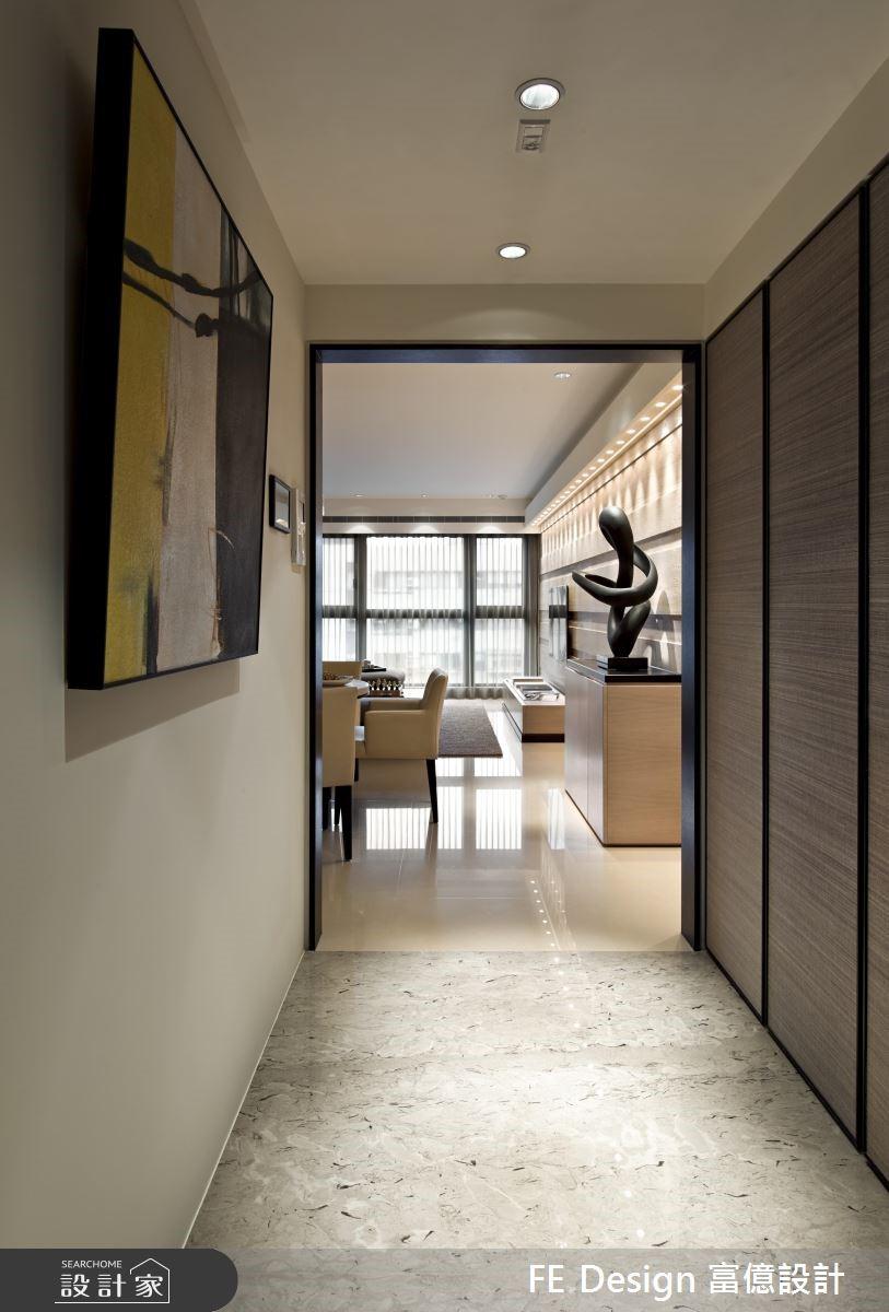 66坪新成屋(5年以下)_現代風玄關案例圖片_富億空間設計_富億_04之1