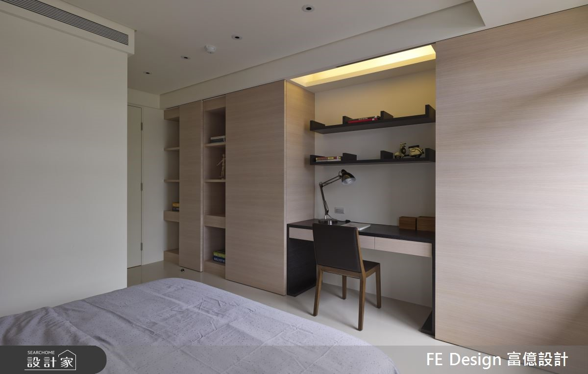 56坪老屋(16~30年)_簡約風臥室案例圖片_富億空間設計_富億_05之22