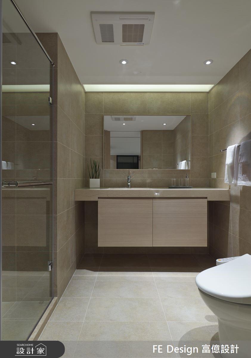 56坪老屋(16~30年)_簡約風浴室案例圖片_富億空間設計_富億_05之31