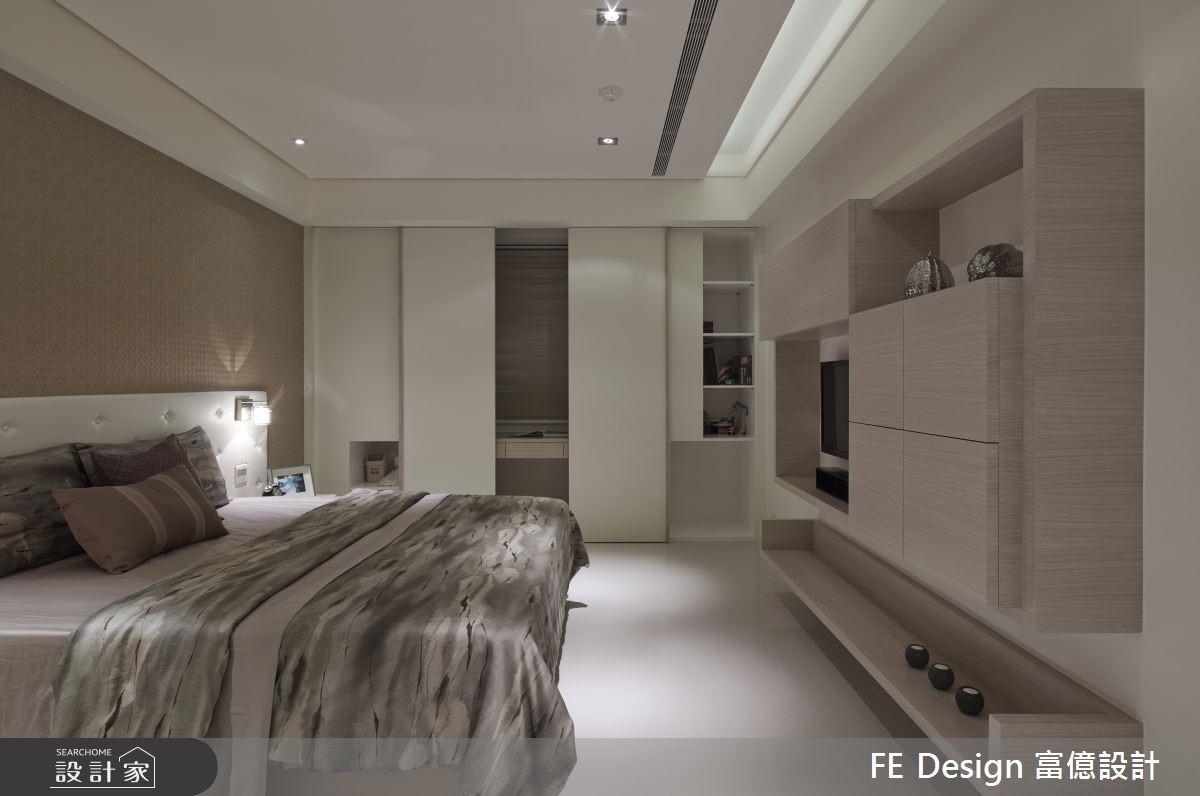 56坪老屋(16~30年)_簡約風臥室案例圖片_富億空間設計_富億_05之28