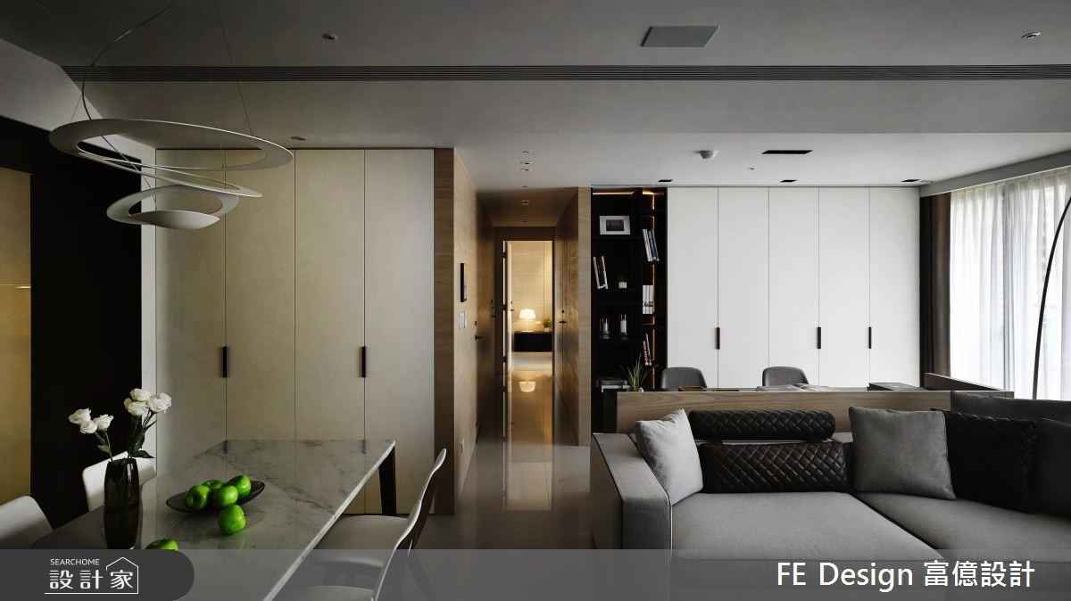 45坪預售屋_現代風走廊案例圖片_富億空間設計_富億_07之3