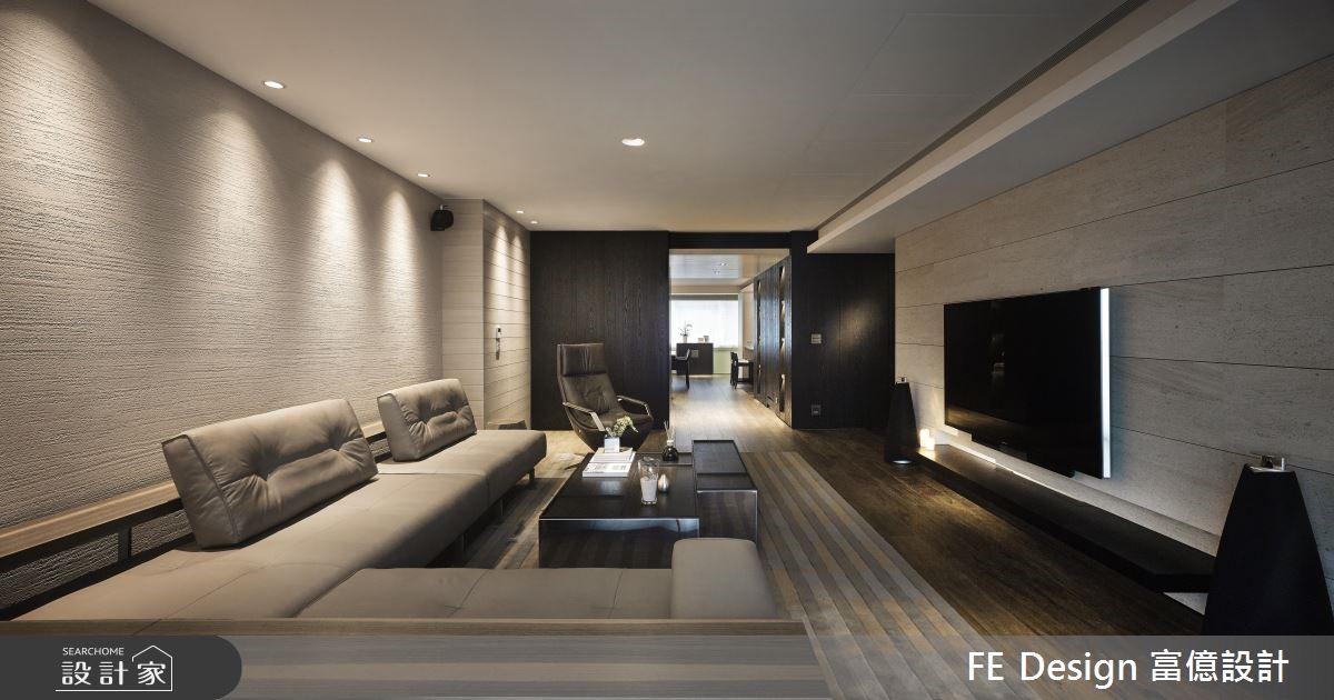 75坪老屋(16~30年)_現代風客廳案例圖片_富億空間設計_富億_02之4