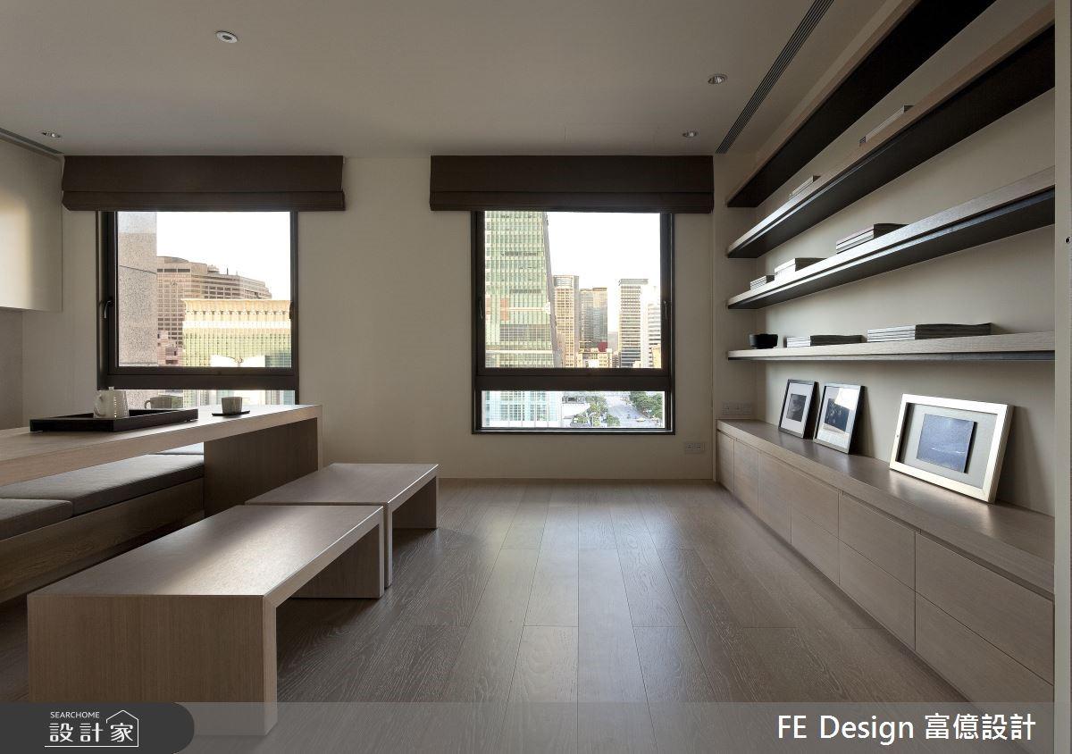 100坪中古屋(5~15年)_現代風和室案例圖片_富億空間設計_富億_10之3