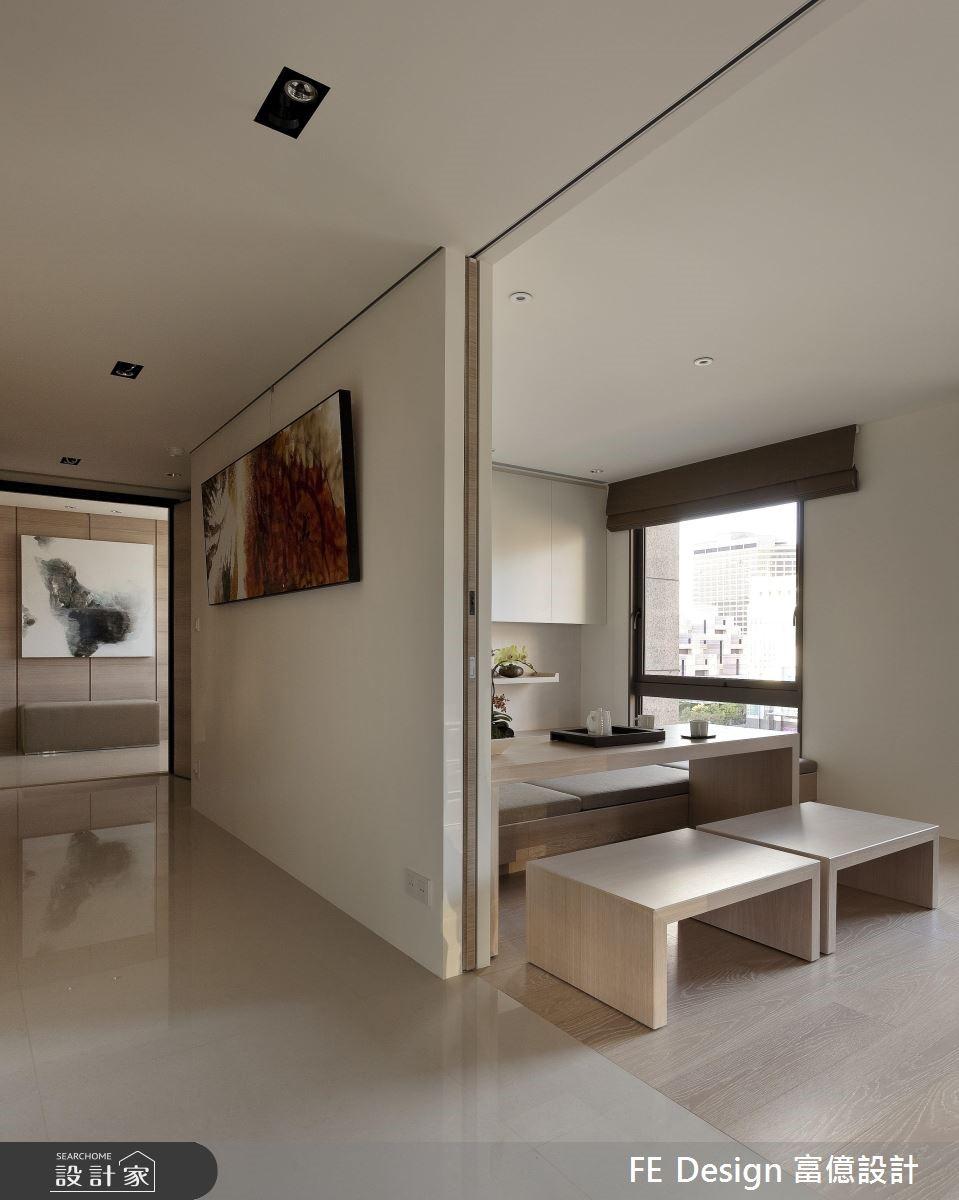 100坪中古屋(5~15年)_現代風走廊案例圖片_富億空間設計_富億_10之2
