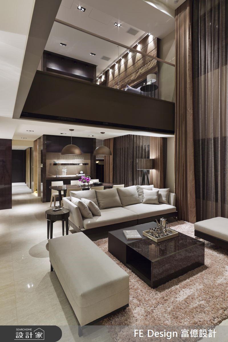 85坪中古屋(5~15年)_現代風客廳案例圖片_富億空間設計_富億_12之5