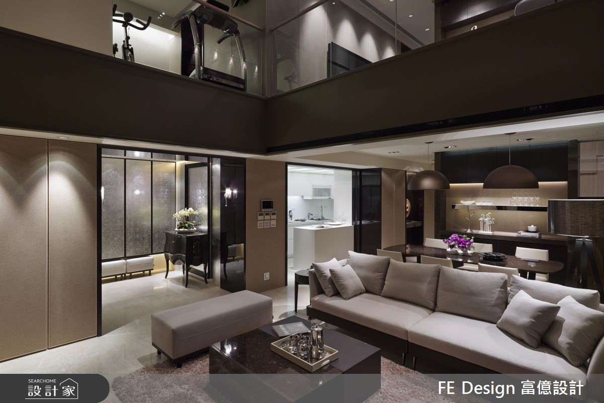 85坪中古屋(5~15年)_現代風客廳案例圖片_富億空間設計_富億_12之6
