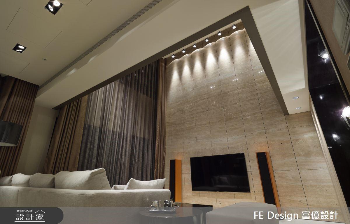 85坪中古屋(5~15年)_現代風客廳案例圖片_富億空間設計_富億_12之4