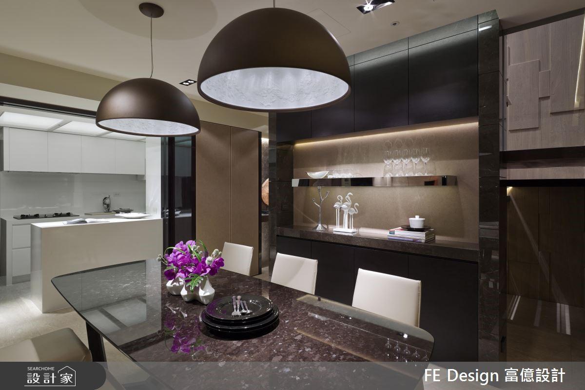 85坪中古屋(5~15年)_現代風餐廳案例圖片_富億空間設計_富億_12之9