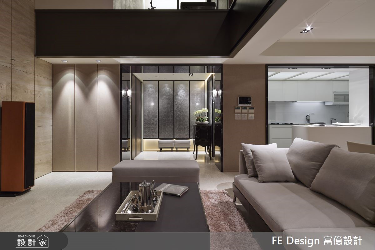 85坪中古屋(5~15年)_現代風玄關客廳案例圖片_富億空間設計_富億_12之7