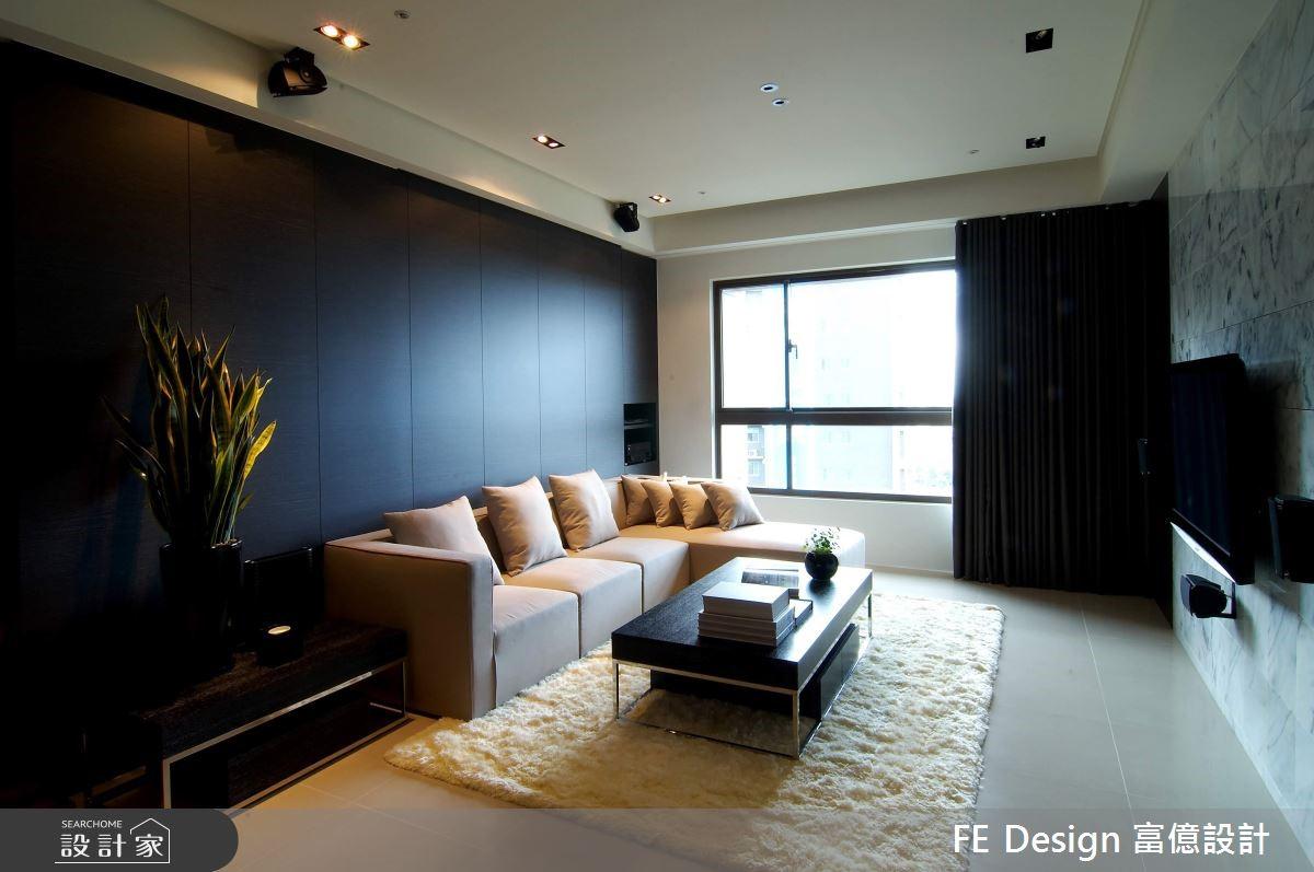 56坪新成屋(5年以下)_現代風客廳案例圖片_富億空間設計_富億_13之4