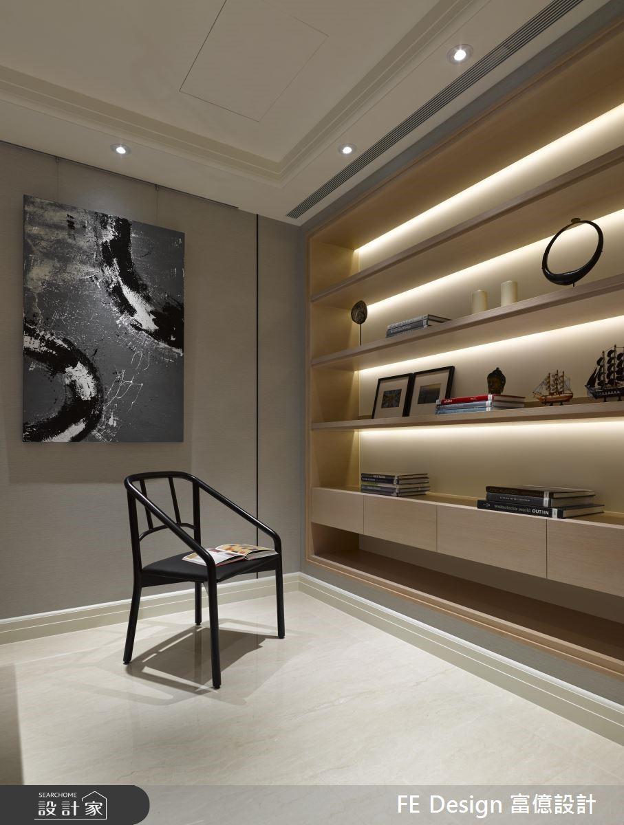 94坪新成屋(5年以下)_新古典書房案例圖片_富億空間設計_富億_15之31