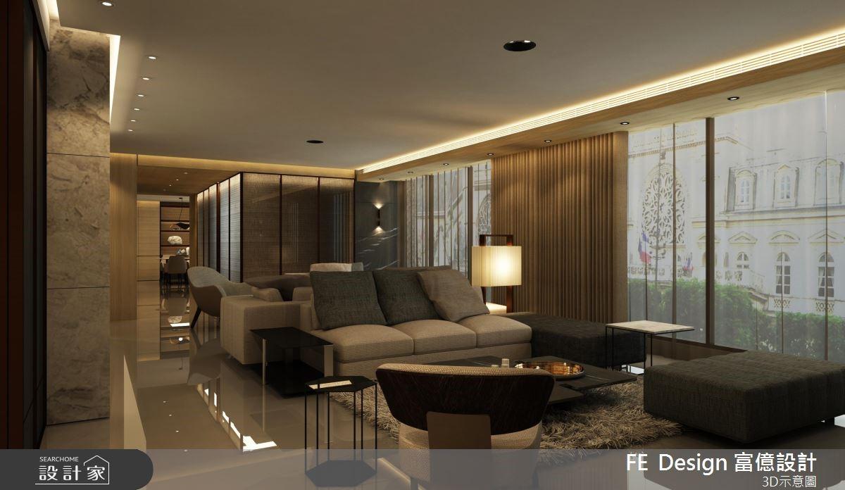 105坪老屋(16~30年)_現代風客廳案例圖片_富億空間設計_富億_19之4