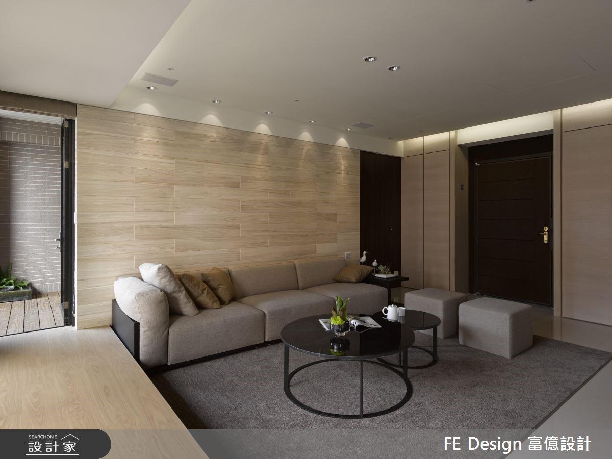 45坪新成屋(5年以下)_現代風客廳案例圖片_富億空間設計_富億_20之3