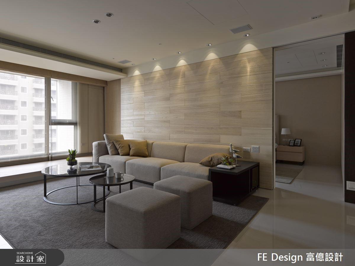 45坪新成屋(5年以下)_現代風客廳案例圖片_富億空間設計_富億_20之5
