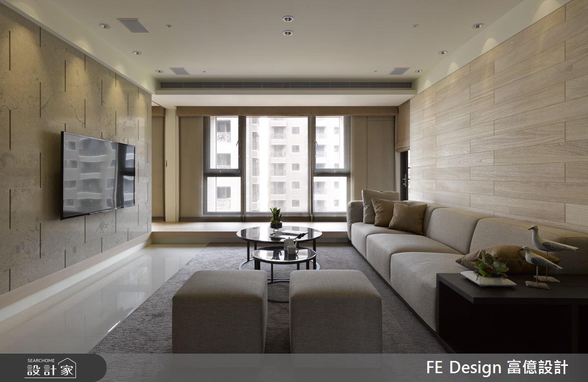 45坪新成屋(5年以下)_現代風客廳案例圖片_富億空間設計_富億_20之2