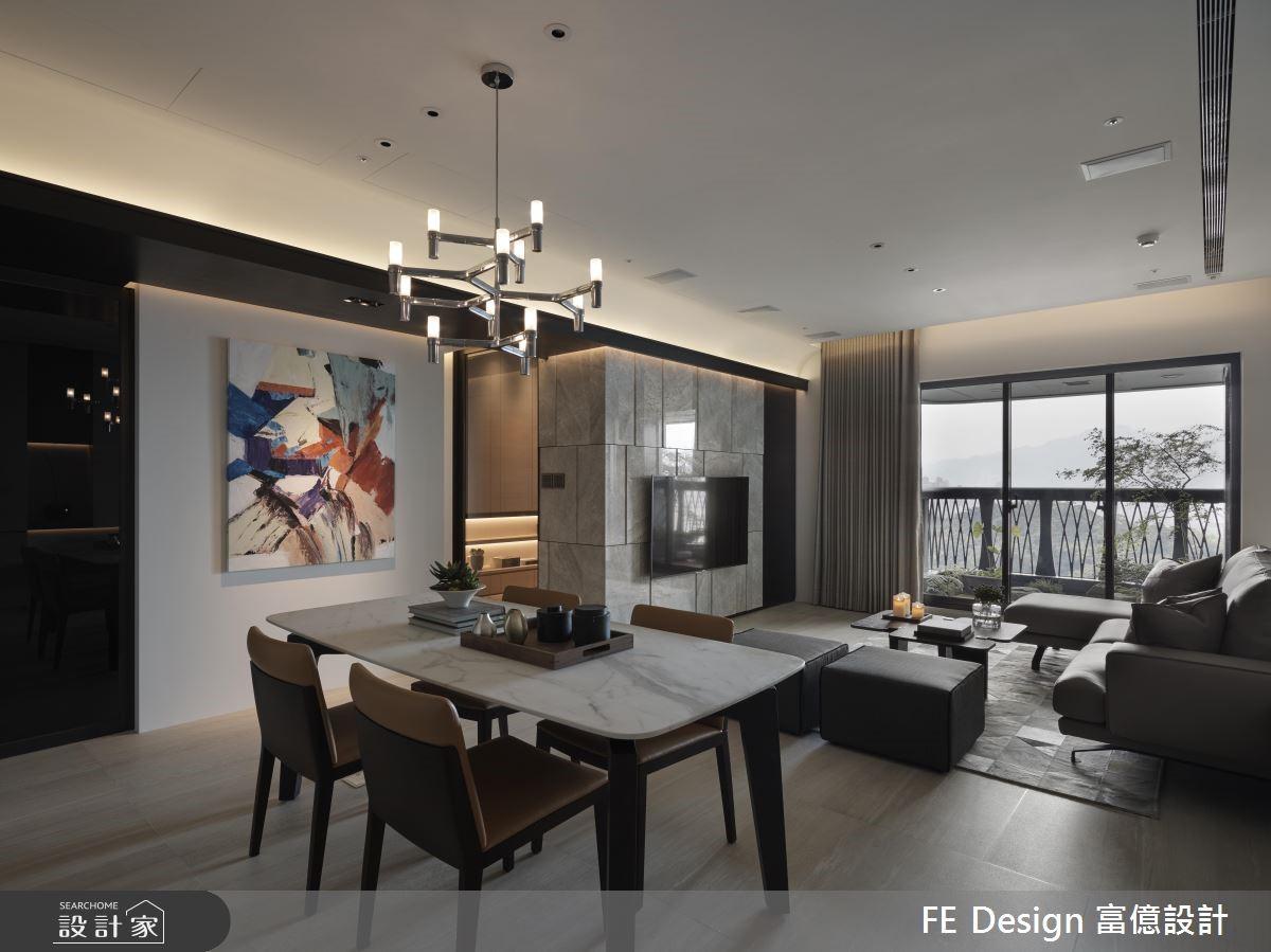 39坪預售屋_現代風案例圖片_富億空間設計_富億_21之2