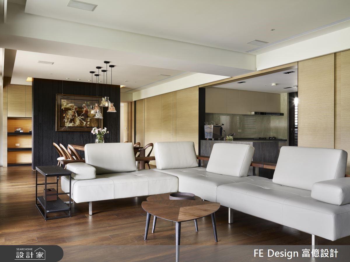 56坪預售屋_現代風客廳案例圖片_富億空間設計_富億_22之2