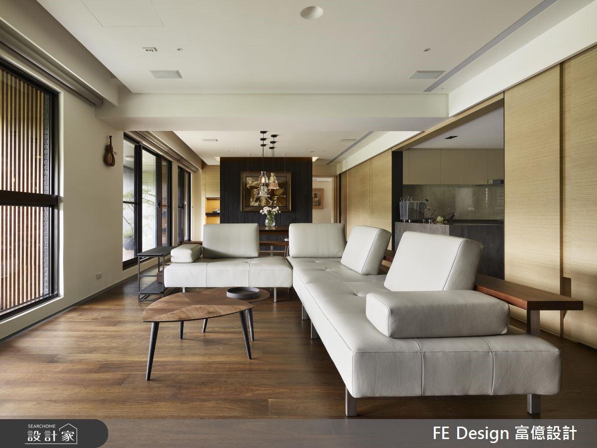 56坪預售屋_現代風客廳案例圖片_富億空間設計_富億_22之3
