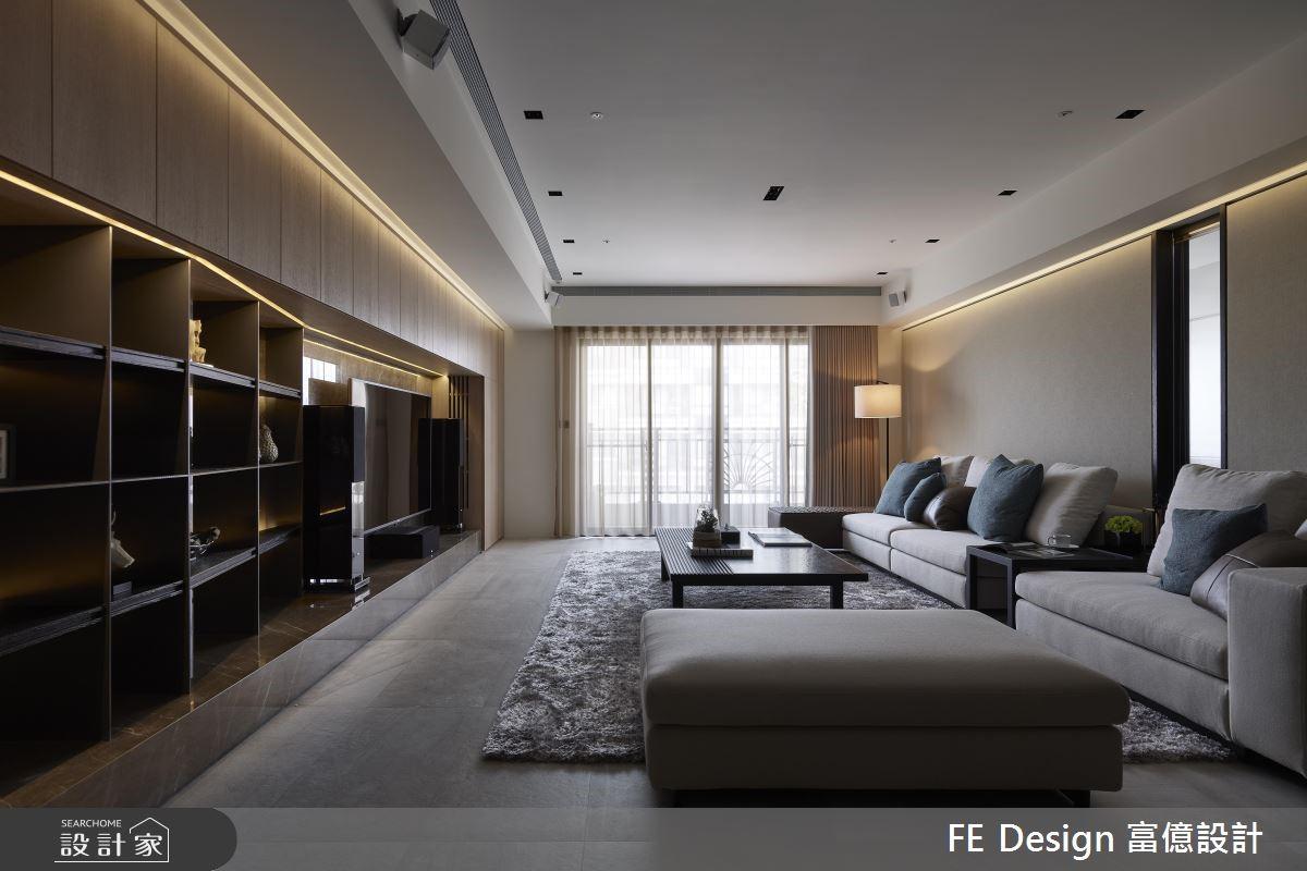 57坪新成屋(5年以下)_現代風客廳案例圖片_富億空間設計_富億_23之4
