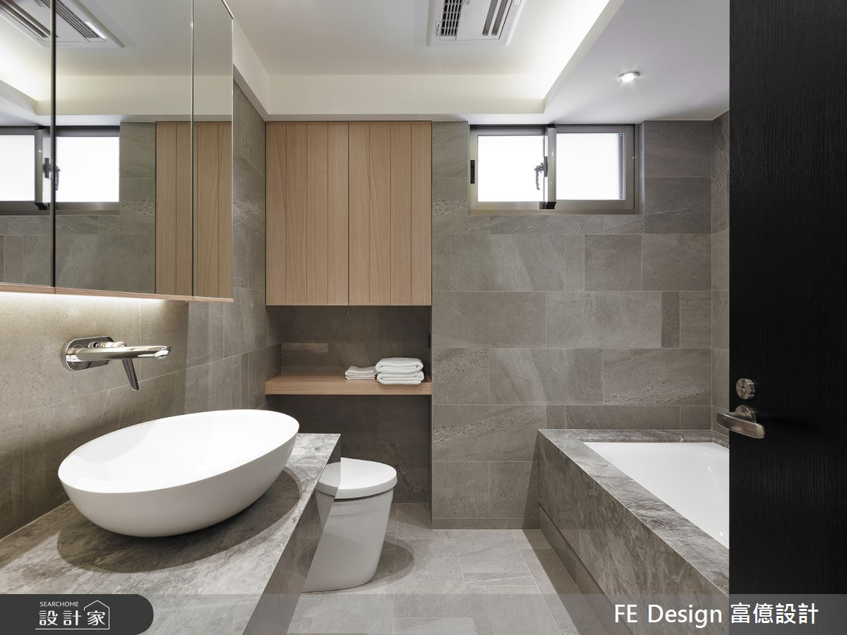 36坪老屋(16~30年)_簡約風浴室案例圖片_富億空間設計_富億_28之20