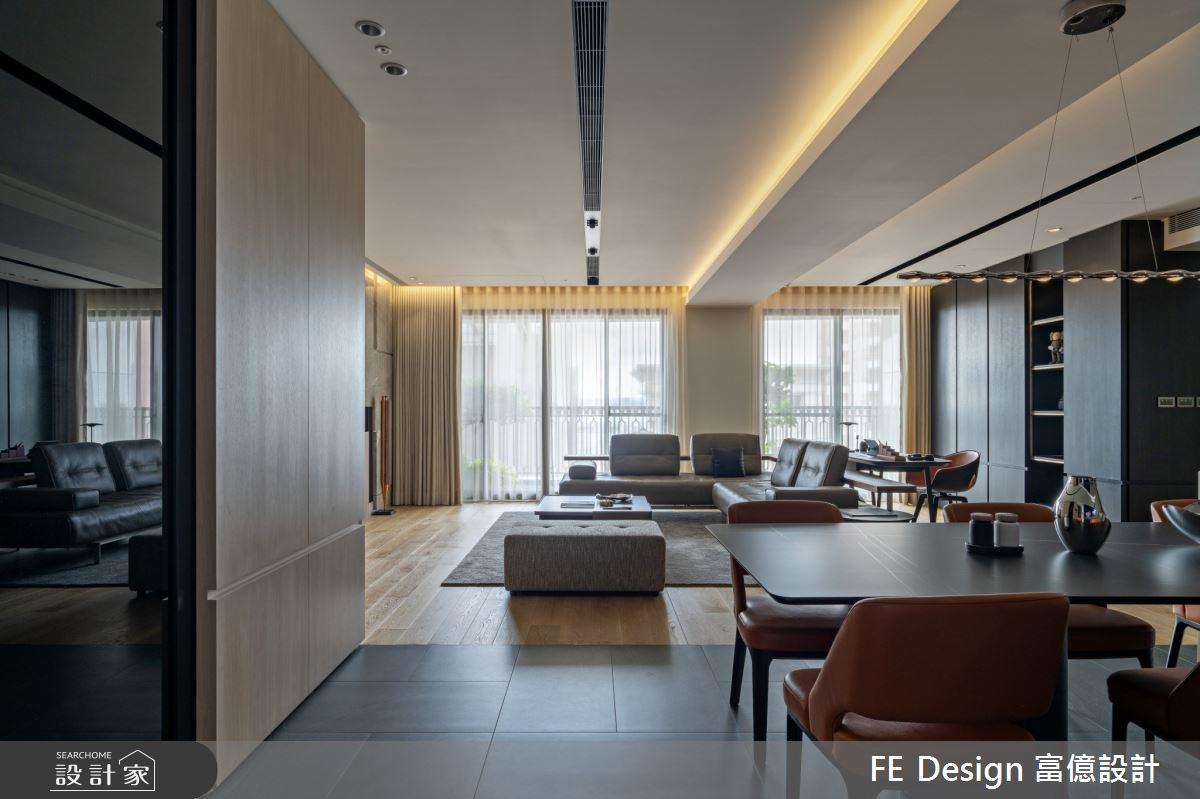55坪新成屋(5年以下)_簡約時尚風案例圖片_富億空間設計_富億_36之2