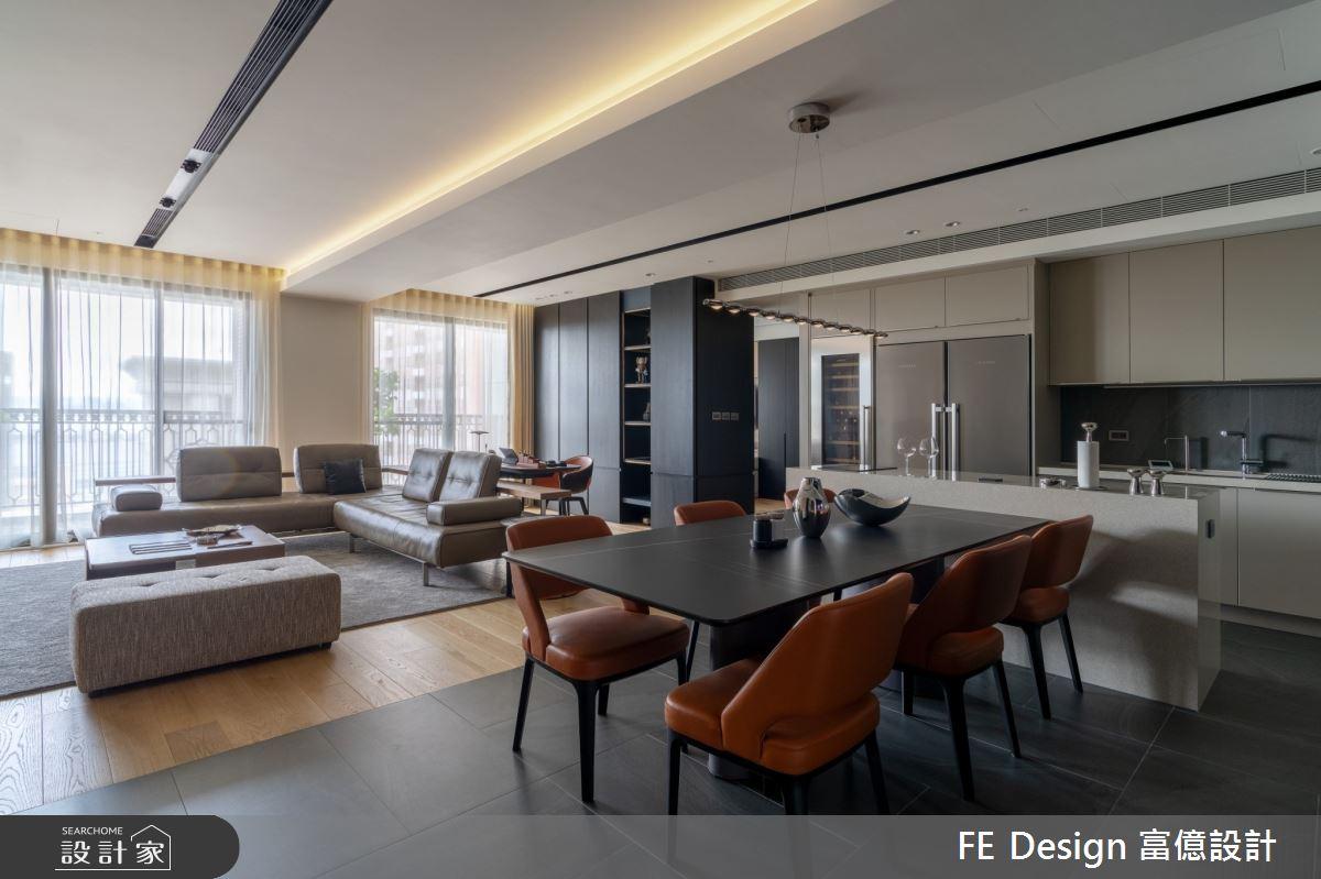 55坪新成屋(5年以下)_簡約時尚風案例圖片_富億空間設計_富億_36之3