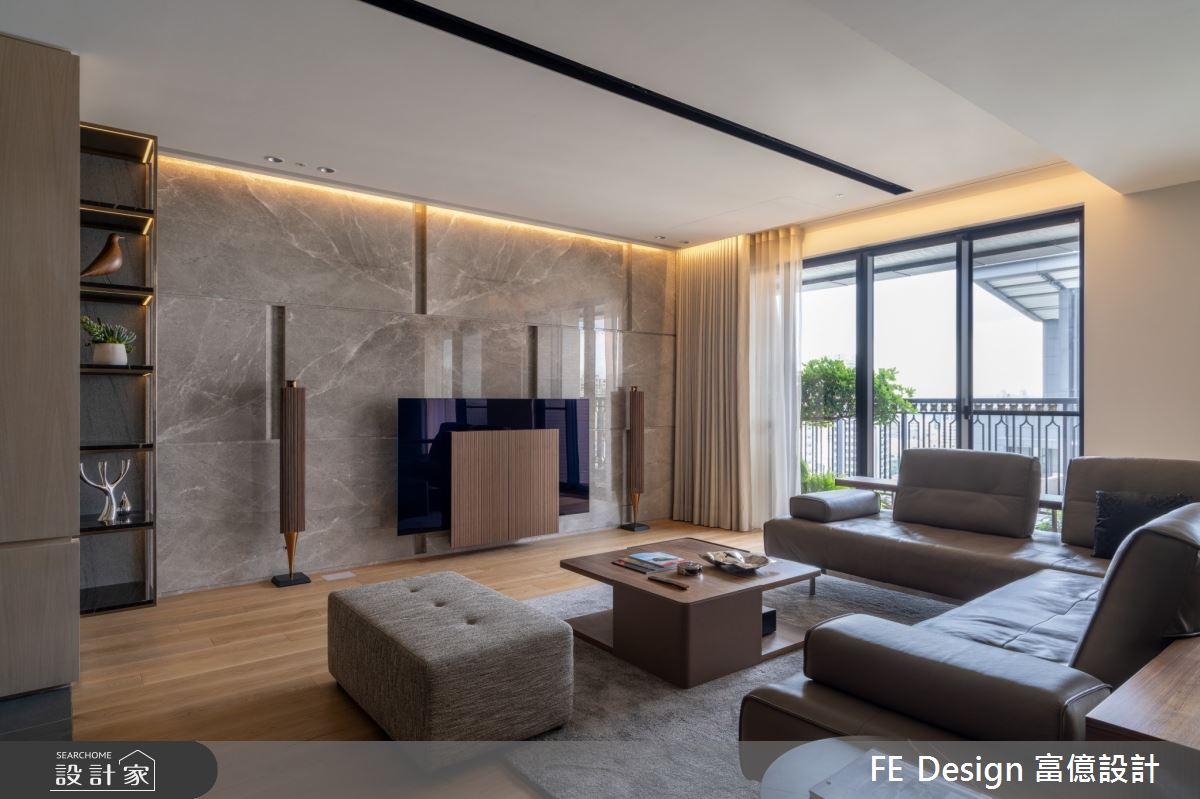 55坪新成屋(5年以下)_簡約時尚風案例圖片_富億空間設計_富億_36之4