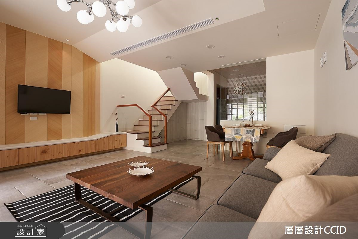 100坪老屋(16~30年)_北歐風客廳案例圖片_層層室內裝修設計有限公司_層層_01之3
