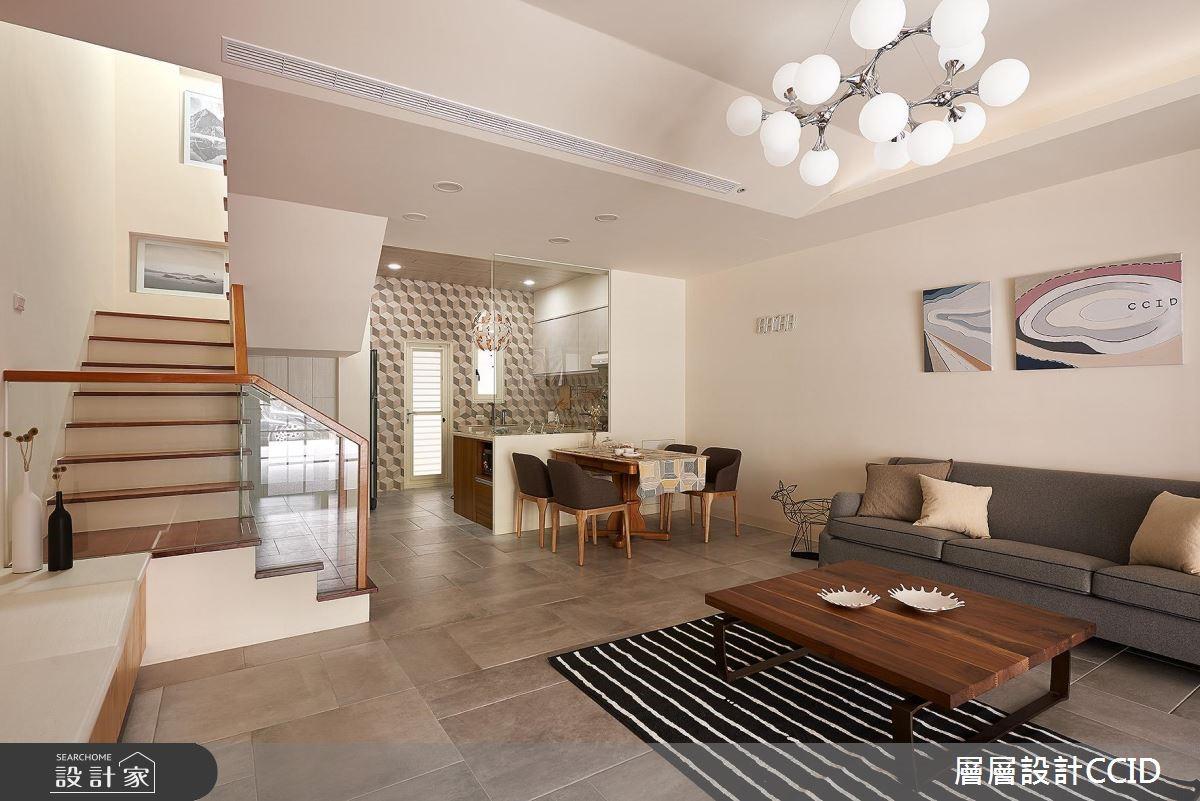 100坪老屋(16~30年)_北歐風客廳案例圖片_層層室內裝修設計有限公司_層層_01之5