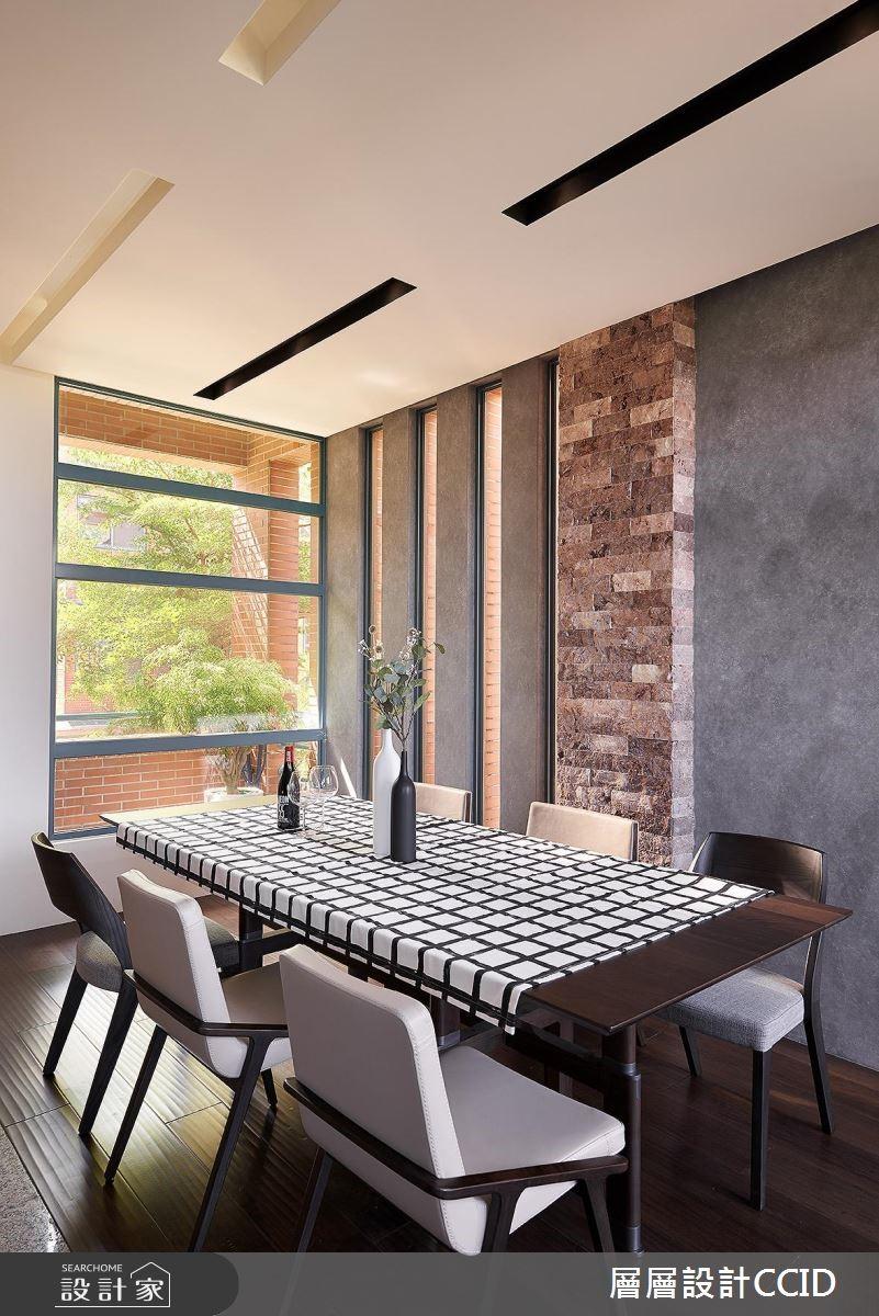 100坪老屋(16~30年)_休閒風餐廳案例圖片_層層室內裝修設計有限公司_層層_02之11