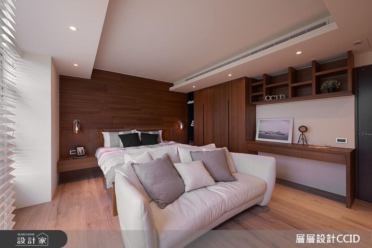 100坪老屋(16~30年)_休閒風臥室案例圖片_層層室內裝修設計有限公司_層層_02之14