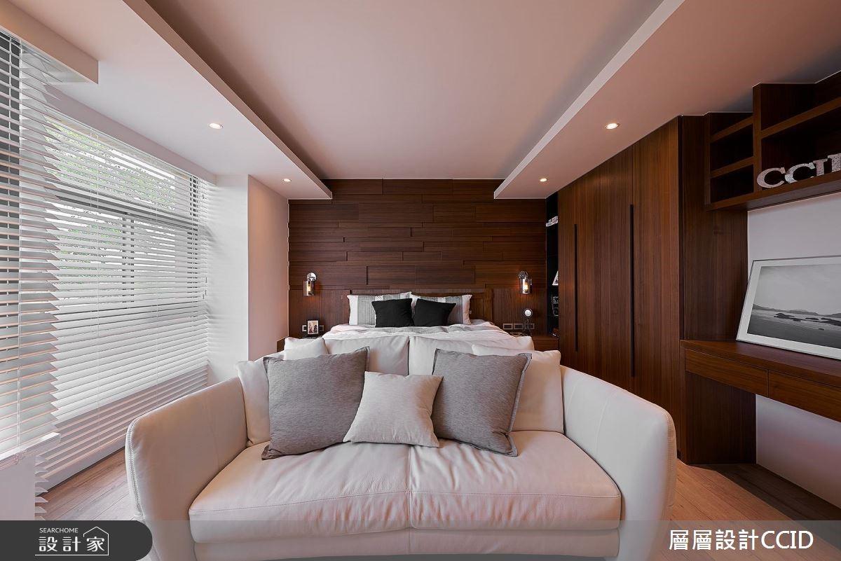 100坪老屋(16~30年)_休閒風臥室案例圖片_層層室內裝修設計有限公司_層層_02之15