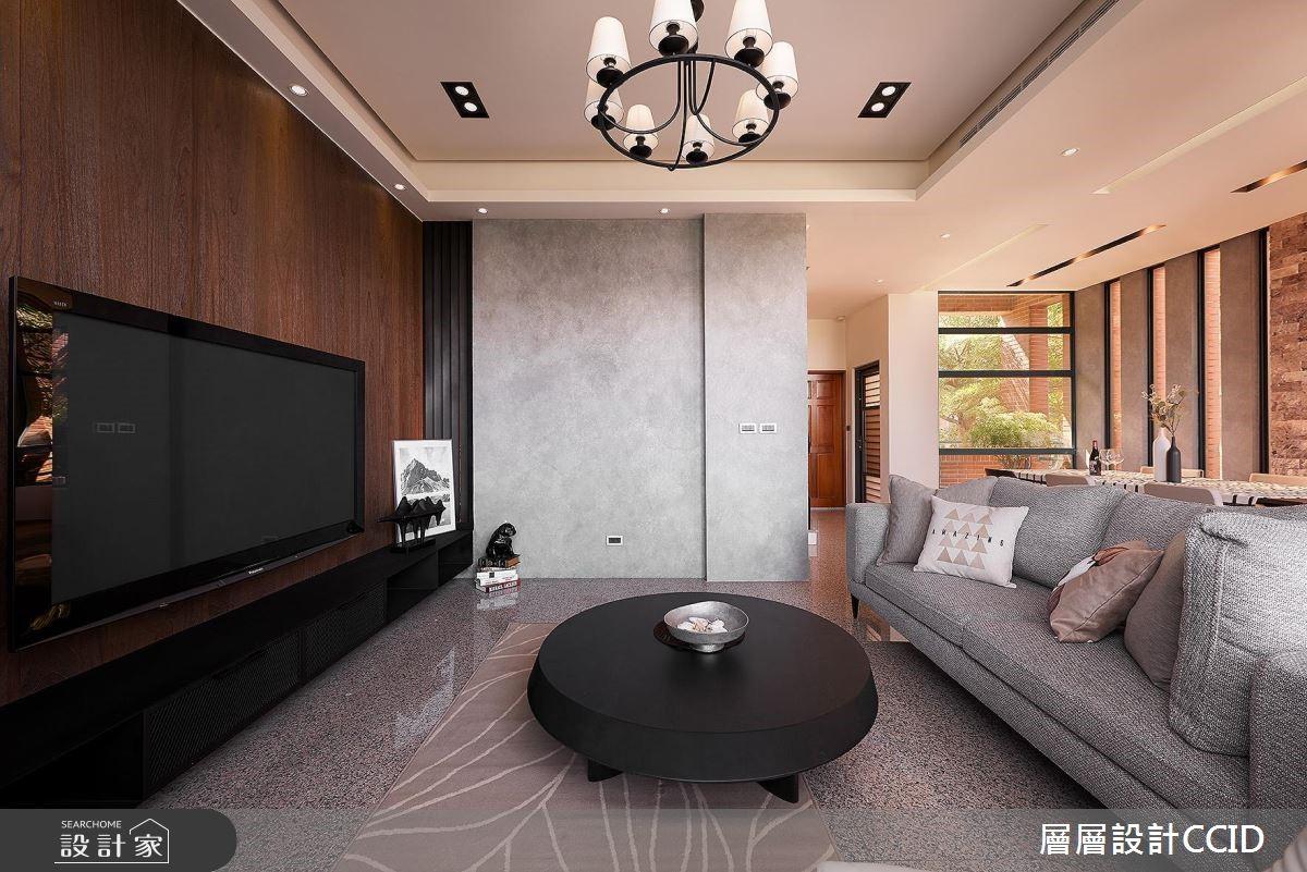 100坪老屋(16~30年)_休閒風客廳案例圖片_層層室內裝修設計有限公司_層層_02之6