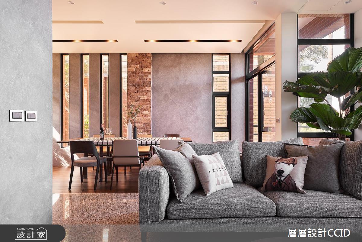 100坪老屋(16~30年)_休閒風客廳案例圖片_層層室內裝修設計有限公司_層層_02之5