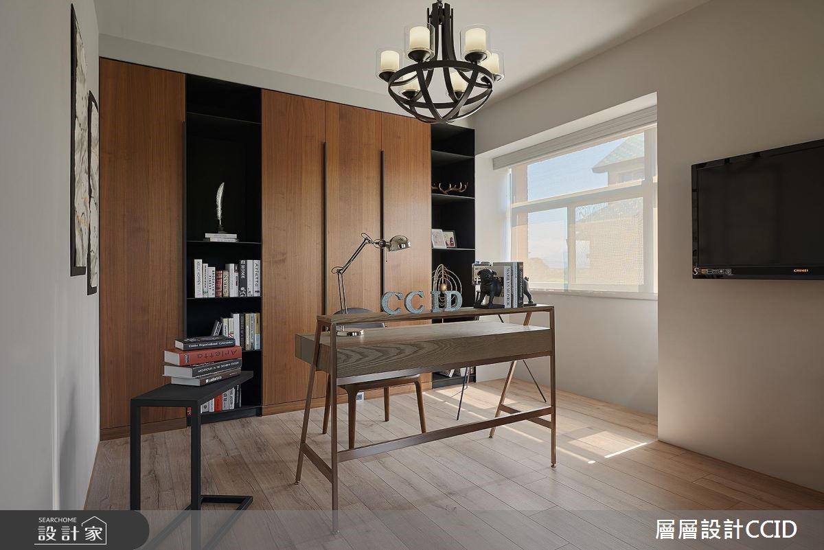 100坪老屋(16~30年)_休閒風書房案例圖片_層層室內裝修設計有限公司_層層_02之16
