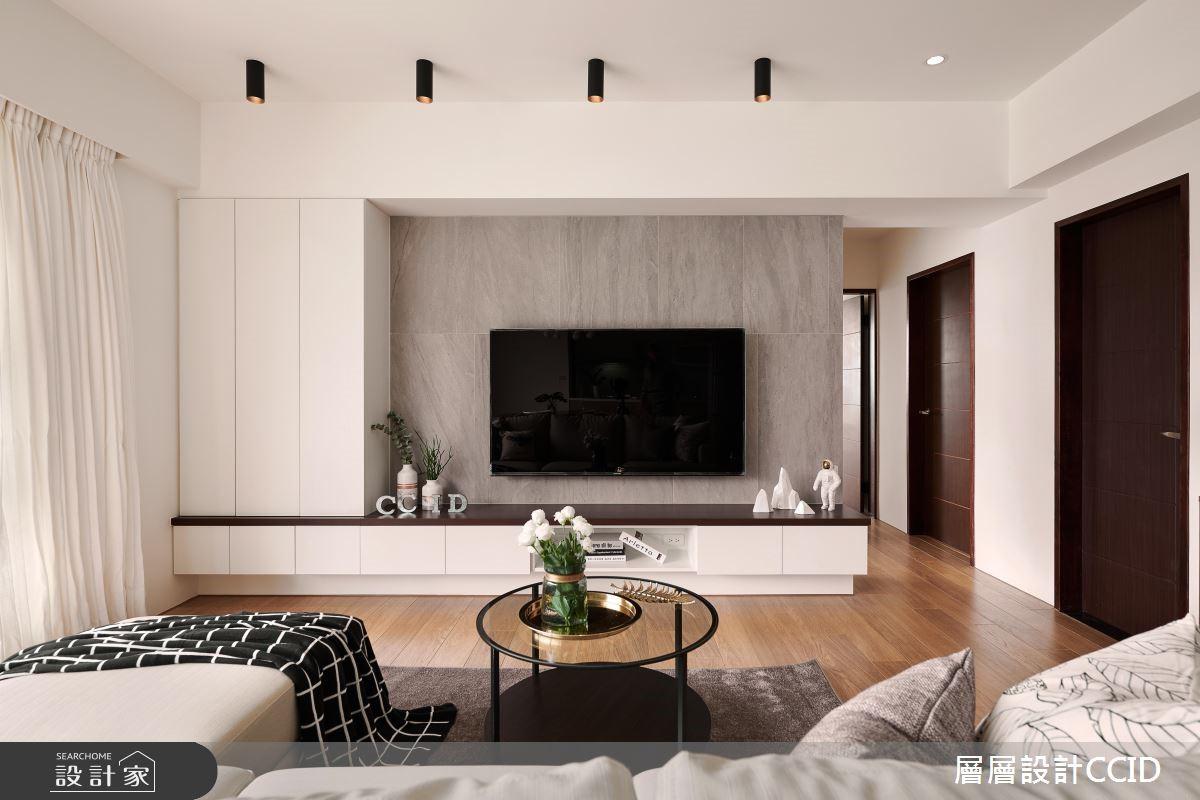 40坪新成屋(5年以下)_北歐風客廳案例圖片_層層室內裝修設計有限公司_層層_07之6