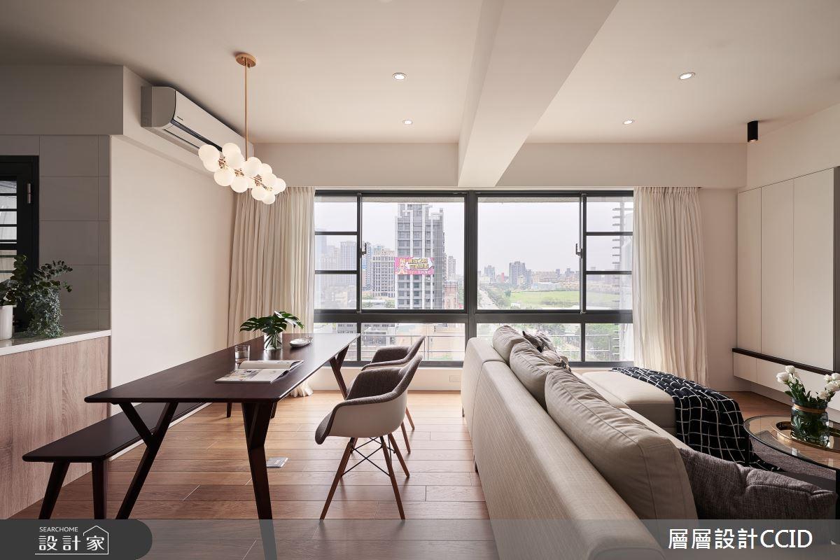 40坪新成屋(5年以下)_北歐風餐廳案例圖片_層層室內裝修設計有限公司_層層_07之2