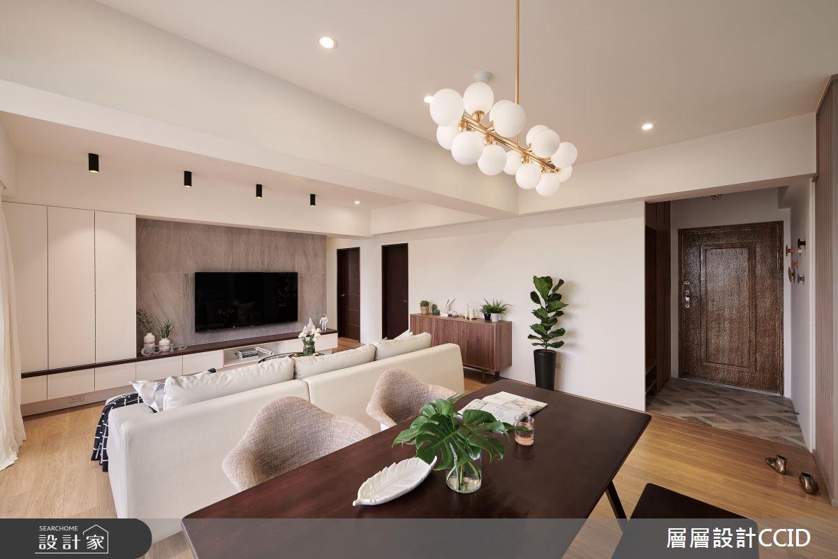 40坪新成屋(5年以下)_北歐風餐廳案例圖片_層層室內裝修設計有限公司_層層_07之4