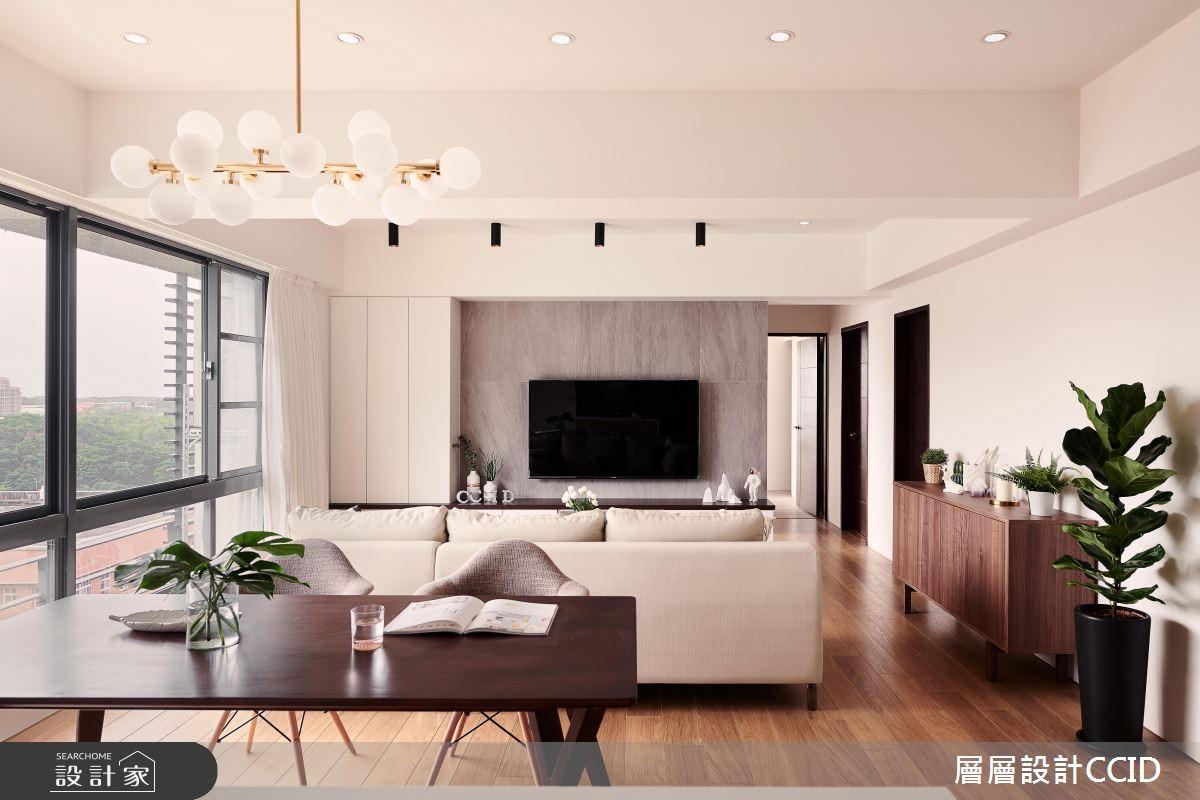 40坪新成屋(5年以下)_北歐風餐廳案例圖片_層層室內裝修設計有限公司_層層_07之3