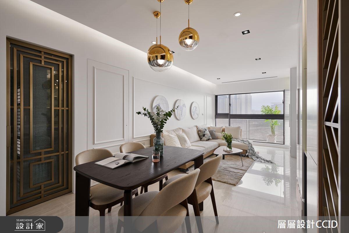 40坪新成屋(5年以下)_現代風餐廳案例圖片_層層室內裝修設計有限公司_層層_08之3