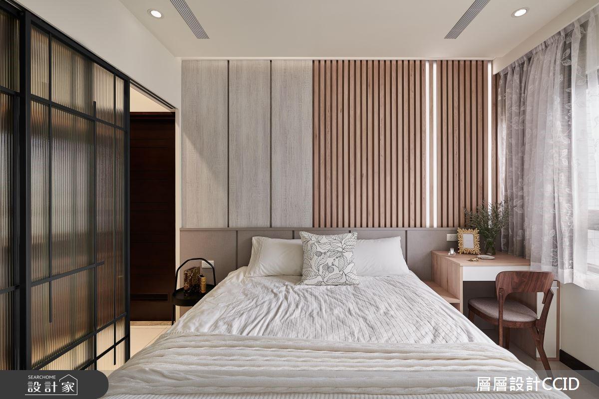 45坪新成屋(5年以下)_休閒風臥室案例圖片_層層室內裝修設計有限公司_層層_09之13