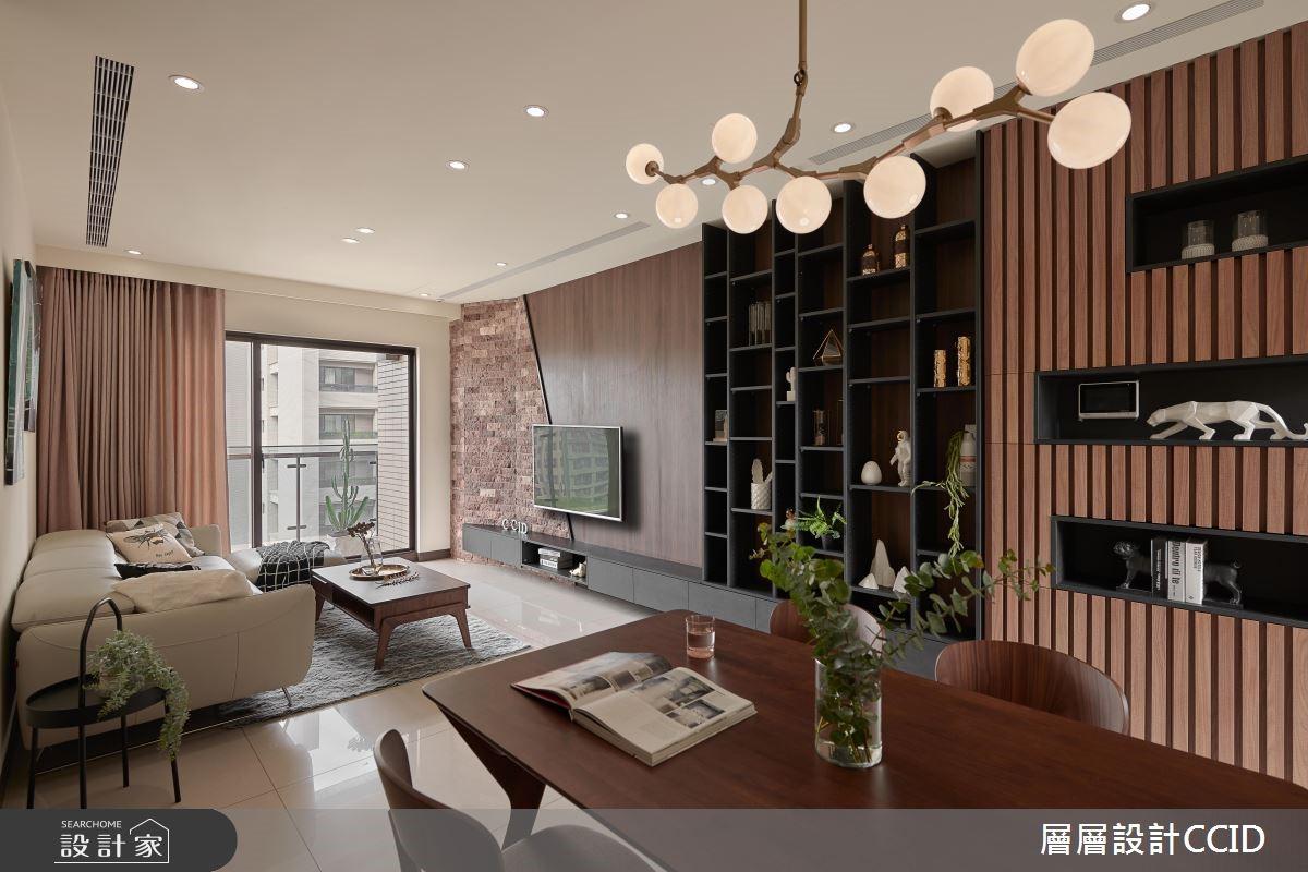 45坪新成屋(5年以下)_休閒風餐廳案例圖片_層層室內裝修設計有限公司_層層_09之5
